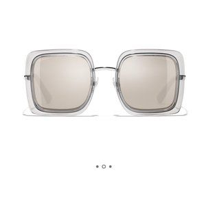 Chanel Mirror Sunglasses